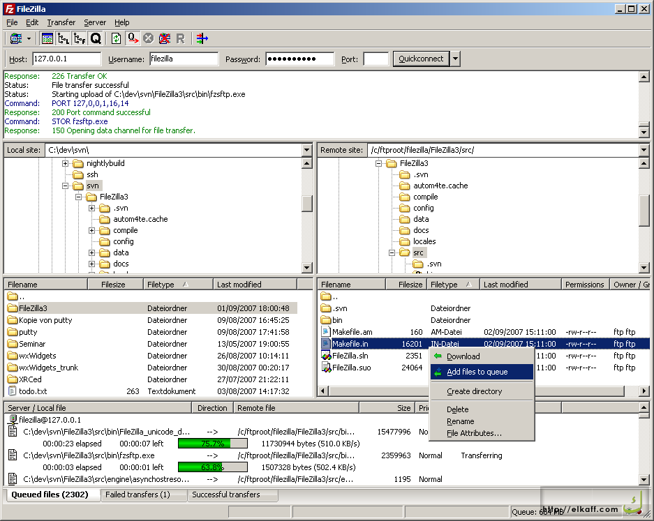FileZilla Client is a fast and reliable cross-platform FTP, FTPS and ...